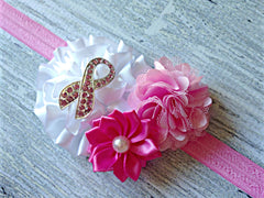 Breast Cancer Awareness Headband
