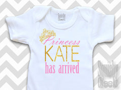 Personalized Princess Has Arrived Onesie