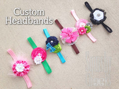 CUSTOM HEADBAND: Design your own headband!