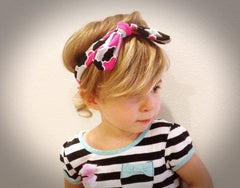 Interchangeable Knotted Headbands