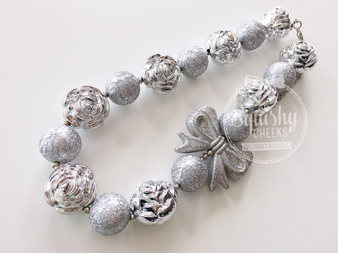 BLOWOUT Silver Chunky Necklace