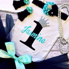 Girl's Personalized Birthday Top