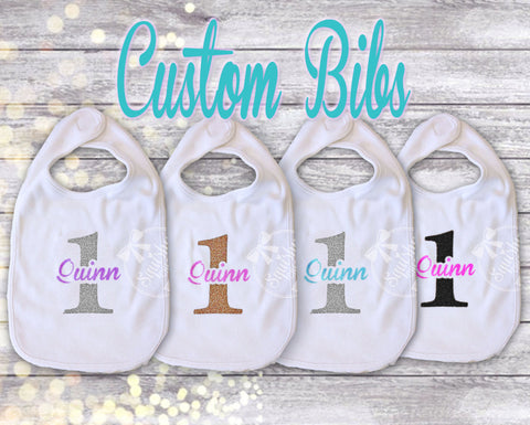 Birthday Bibs Customized