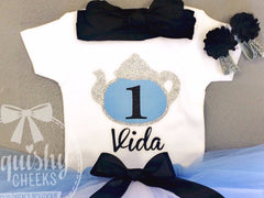 Alice in Wonderland Birthday Top
