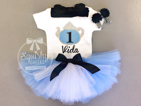 Alice in Wonderland Birthday Outfit - Any Age