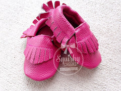 BLOWOUT: Pink Moccasins
