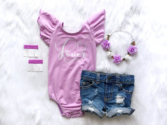 Girl's Lavender Little Lover Outfit