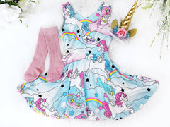 Unicorn Twirl Dress