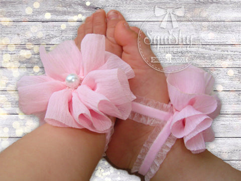 Light Pink Ruffle Piggy Petals