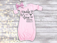 Girl's Made with Love Valentine's Day Gown