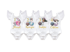 Girl's Personalized Mermaid Birthday Collection