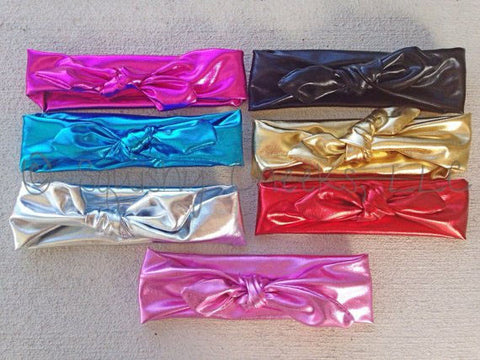 MYSTERY Color Metallic Knot Headband
