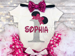 Girl's Mouse Birthday Top