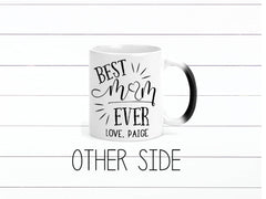 Magic Color Changing Personalized Mother's Day Photo Mug