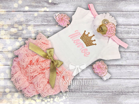 Personalized Princess Outfit