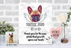 Custom Pet Loss Keepsake Plaque