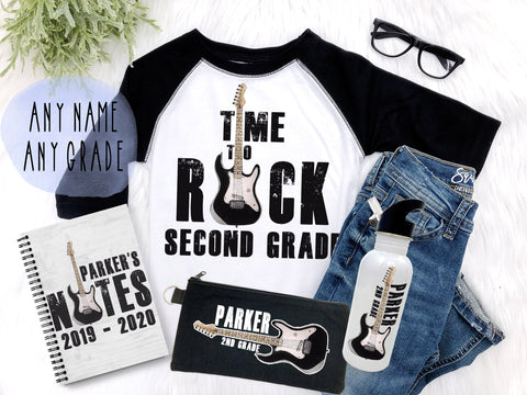 Boy's Back to School Rock n' Roll Gift Set
