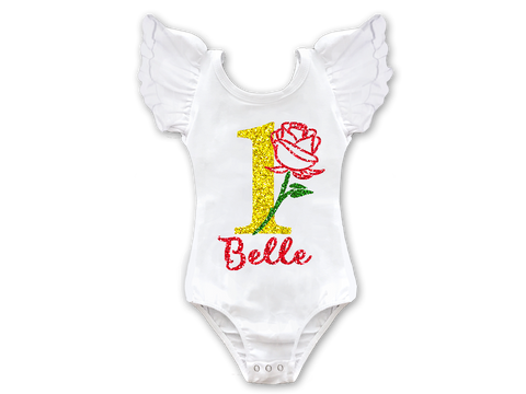 Beauty 1st Birthday Leotard