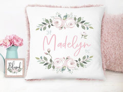 Girl's Personalized Floral Gift Set