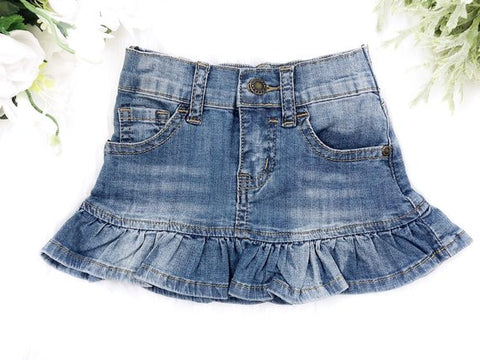 Squishy Cheeks Denim Skirt