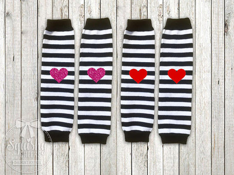 Valentine's Day Leg Warmers