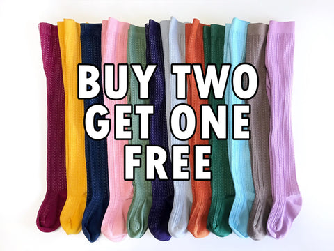 SALE Cable Knit Tights - BUY 2 GET 1 FREE