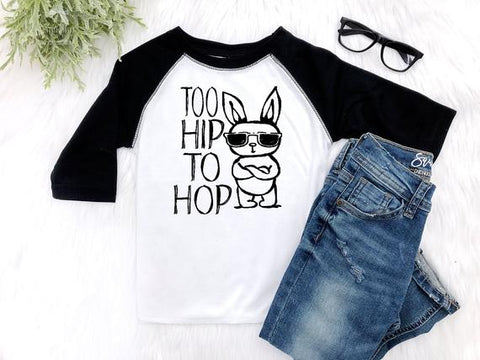 Boy's Too Hip to Hop Easter Outfit