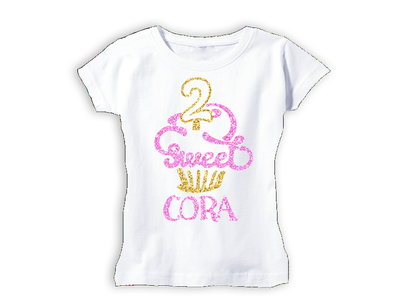 79dee053c Girl's Two Sweet 2nd Birthday Top – Squishy Cheeks