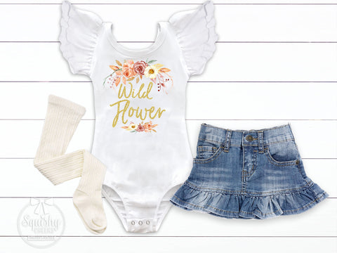 Wild Flower Fall Outfit