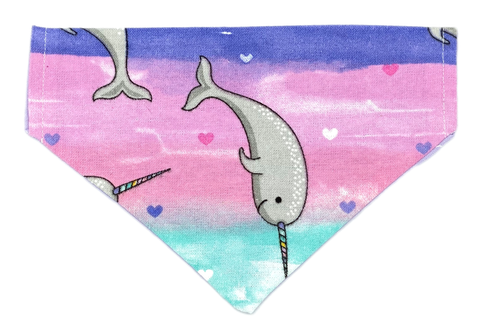 Narwhal Always Love You Dog Bandana
