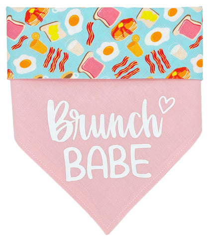 Brunch Babe Reversible Dog Bandana