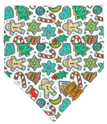 Christmas Cookies Dog Bandana