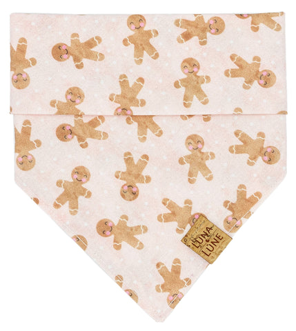 Gingerbread Man Dog Bandana