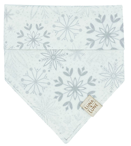 Winter Snowflakes Dog Bandana