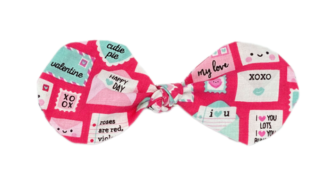 Pink Love Mail Bow