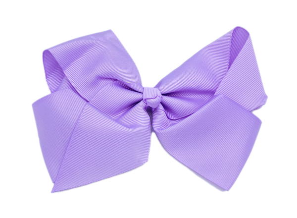 Purple Large Hair Bow