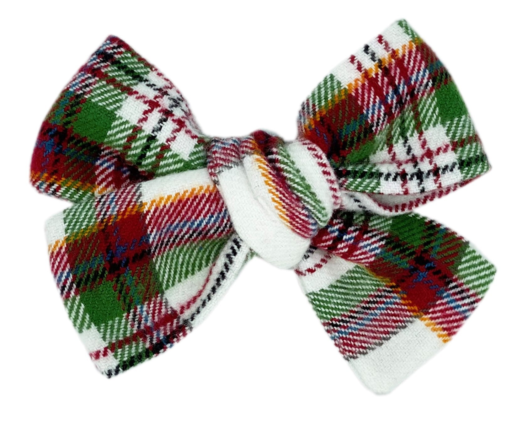 Merry and Bright Plaid Bow