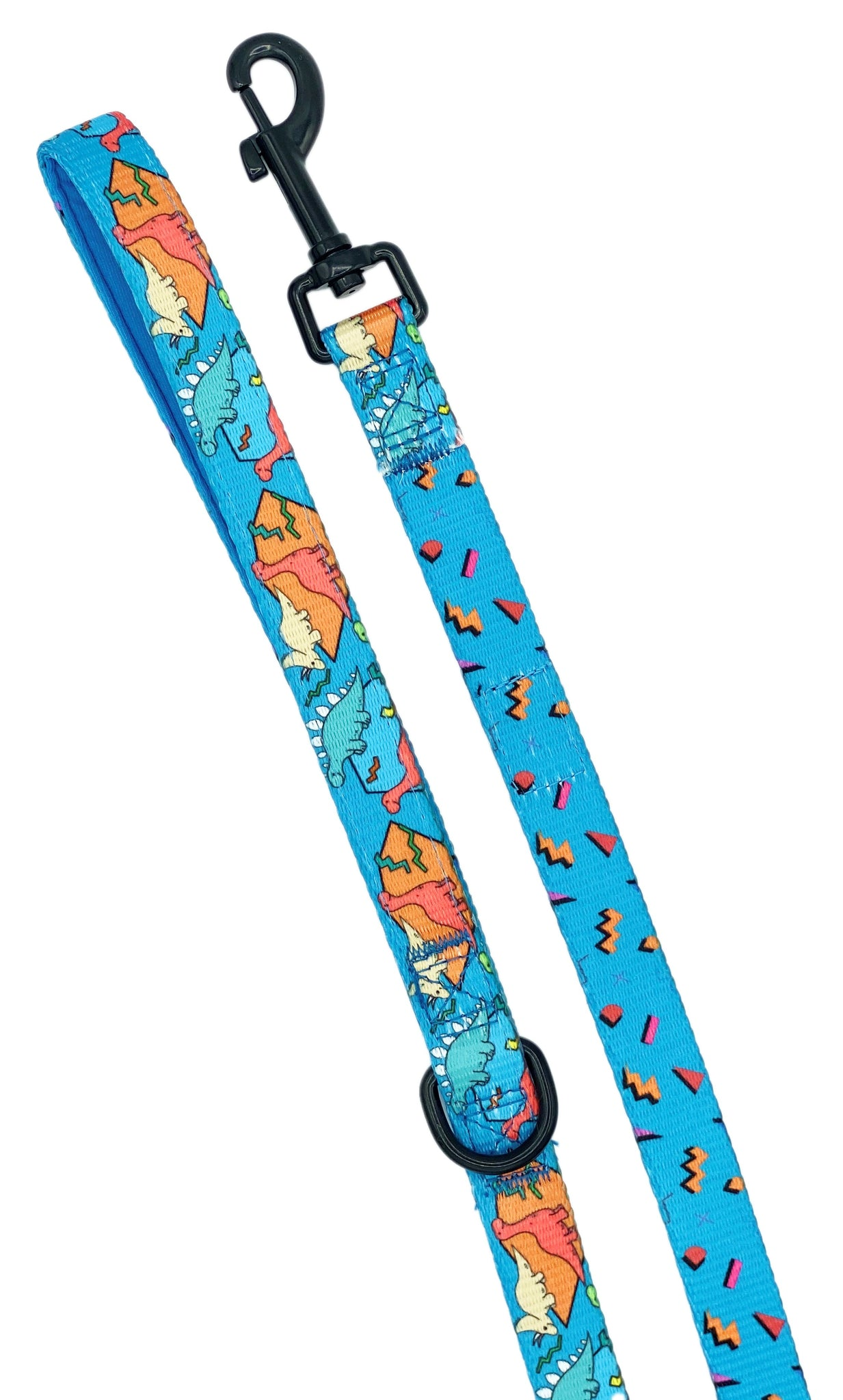Retro Dino Dog Leash