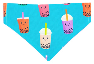 Boba Bubble Tea Dog bandana