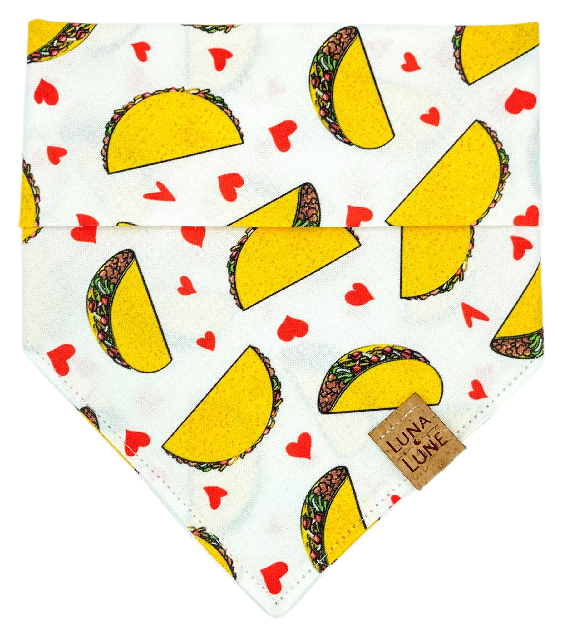 Let's Taco 'bout Love Dog Bandana