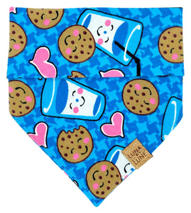 Milk & Cookies Dog Bandana