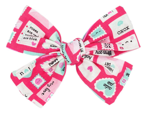 Love Letters - Pink Bow
