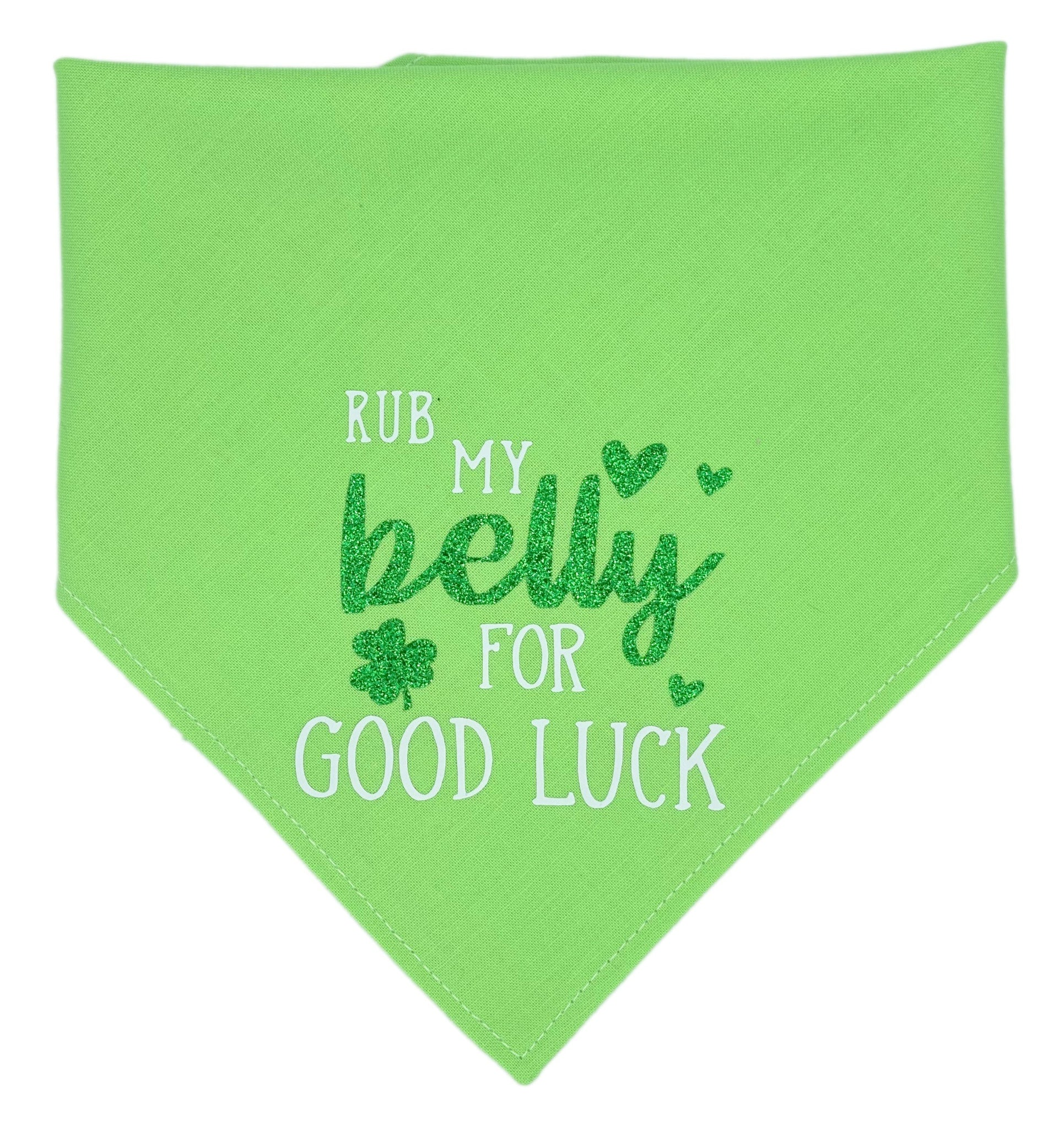 Create Your Own St. Patrick Reversible Dog Bandana