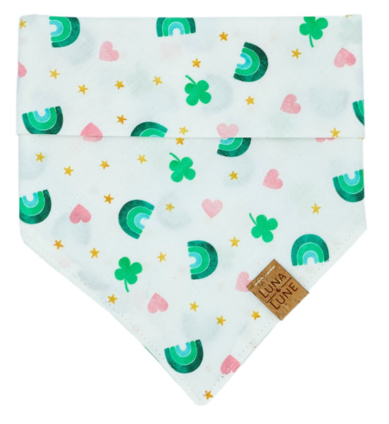 Pot Of Gold Dog Bandana