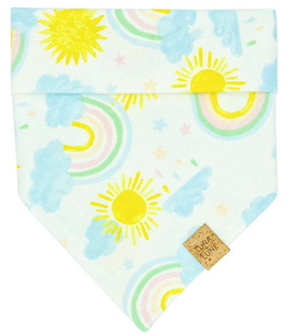 Here Comes The Sun Dog Bandana