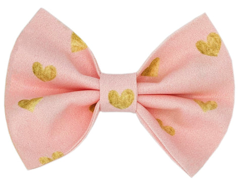 Heart of Gold Bow Tie