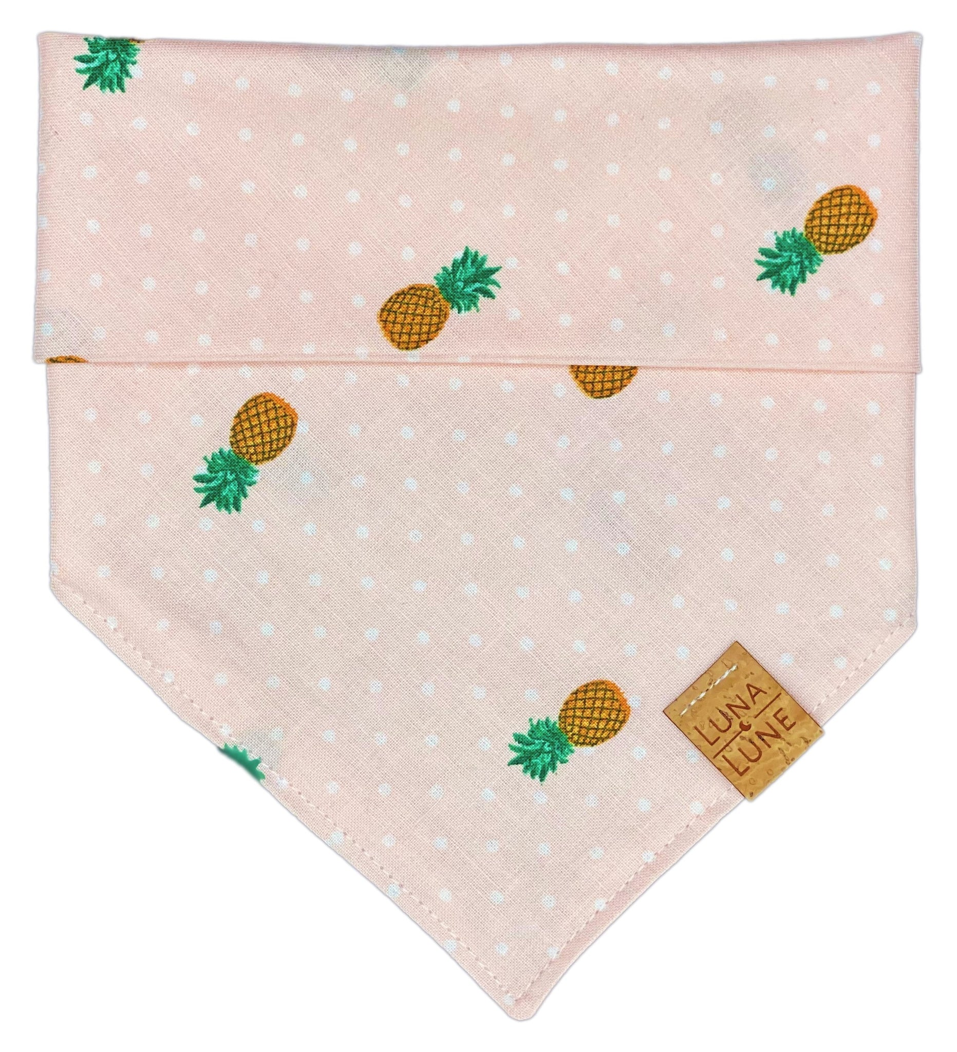 Pink Pineapple Punch Dog Bandana
