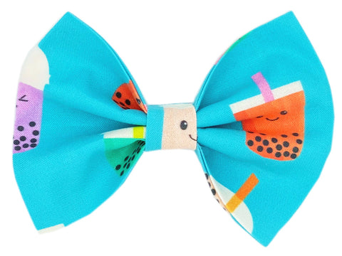 Boba Bubble Tea Bow Tie