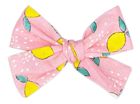 Watermelon Lemonade Bow