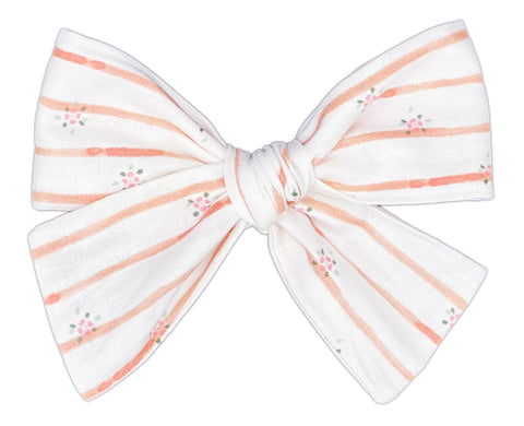 Blooming Rose Bow
